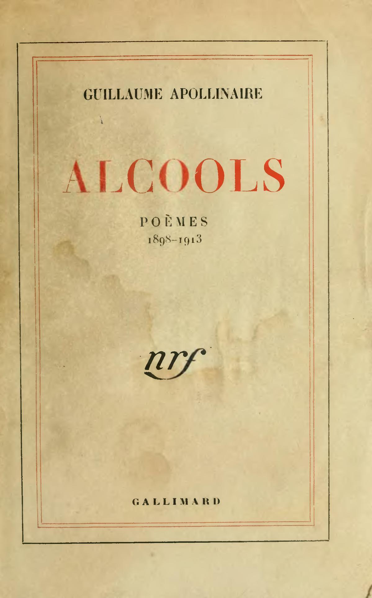 Alcoholes Apollinaire Wikipedia La Enciclopedia Libre