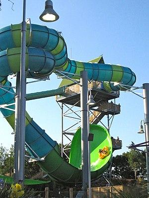 Aquatica (water parks) - Image: Aquatica San Antonio Pro Slide Tornado Wave 1