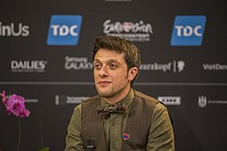 Aram Mp3, ESC2014 Armenia 1st press conference 04.jpg