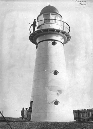 Archer Point Light - The original Archer Point Light, 1917