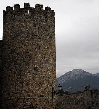 Old Castile - Castle in Arenas de San Pedro (Ávila), built in 1393