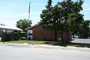 Argenta, Illinois - Argenta, Illinois Post Office.