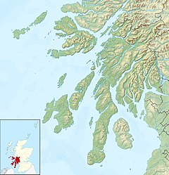Luing is located in Argyll and Bute