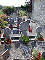 Arhan (Lacarry e.a., Pyr-Atl, Fr) cimetière avec stèles discoïdales.JPG