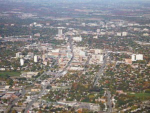 Tri-Cities (Ontario) - Downtown Kitchener skyline