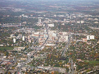 Kitchener, Ontario - View of Downtown Kitchener