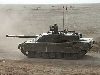 Ariete - Ariete tank training in Nasiriyah Iraq