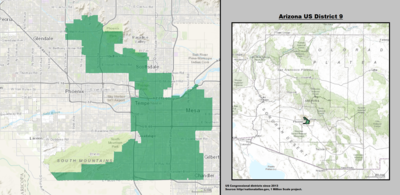 Arizona's 9th congressional district - since January 3, 2013.