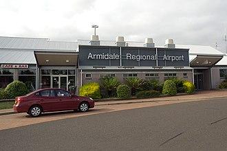 Armidale Airport - Image: Armidale Regional Airport, New South Wales (10005706805)