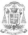 Armoiries de Mgr Foulon évêque de Nancy et de Toul 1874.png