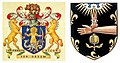 Arms of the Society of Apothecaries and the Royal College of Physicians.jpg
