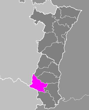 Làg vum Arrondissement Arrondissement Dànn ìm Elsàss