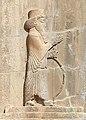Artaxerxes III on his tomb relief.jpg