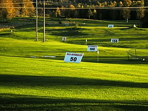 English: Golf course in Aspeboda