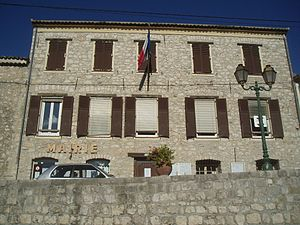 Aspremont, Alpes-Maritimes - Aspremont Town Hall