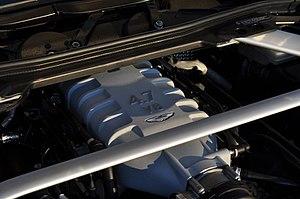 Jaguar AJ-V8 engine - 4.7L V8 in a 2012 Vantage
