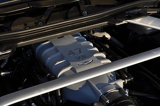 Jaguar AJ-V8 engine - 4.7L V8 in a 2012 Vantage