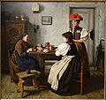 At the Fortune Teller's by Alma Erdmann, 1900, oil on canvas - Chazen Museum of Art - DSC02374.JPG