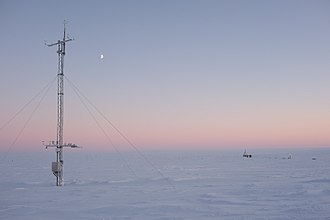Station Nord, Greenland - Atmospheric measurements in the station