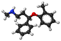 Atomoxetine ball-and-stick model.png
