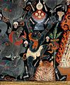 Attributes of Gonpo Gur (Panjaranatha, 'Lord of the Tent') Wellcome L0030396.jpg