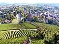 Ausblick von der Ruine Weibertreu nach Weinsberg - panoramio.jpg