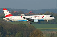 OE-LBV - A320 - Austrian Airlines