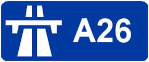 A16 autoroute - Image: Autoroute A26