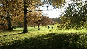 Mindeparken - Image: Autumn in Mindeparken