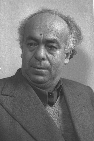 Avraham Shlonsky - Avraham Shlonsky in 1952