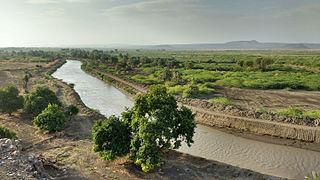 Ethiopian xeric grasslands and shrublands ecoregion in northeastern Africa