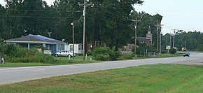 Awendaw, South Carolina, US17 at Awendaw Creek.jpg