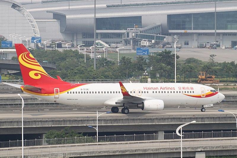 파일:B-5136 Boeing 737 Hainan Airlines (7157368269).jpg