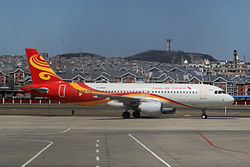 Airbus A320-200 der Lucky Air
