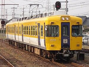 Ichibata Electric Railway - Image: BATADEN 2103F Kawato