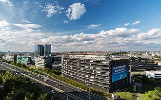 Economy of the Czech Republic - Image: BB Centrum, Prague, Czech Republic