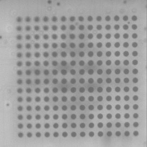 Ball grid array - X-ray of BGA