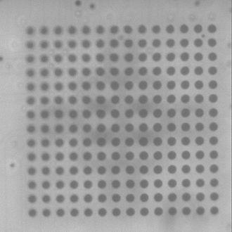 Ball grid array - X-ray of BGA