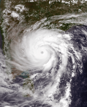 1990 North Indian Ocean cyclone season - Image: BOB 01 May 8 1990 0802Z
