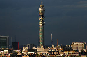 BT Tower - BT Tower from Queen's Tower