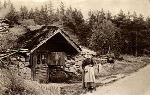 Backstuga - A backstuga in Småland.