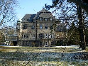 Gordon Macready - Villa Mauser in Bad Honnef, Residence of Gordon Macready from 1949 until his death