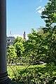 Baden Baden - View NE from Trinkhalle towards Stiftskirche.jpg