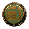 Badge. Institute of Microbiology Augustus Kirchenstein.png