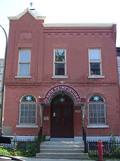 Bagg Street Shul building in Quebec, Canada