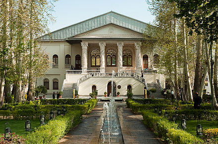 Ferdows Garden houses Iran's Cinema Museum. Bagh-e Ferdows Tajrish.jpg