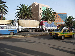 The Bahir Dar city center