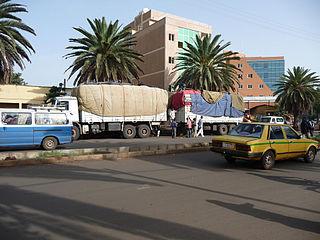 Bahir Dar City in Amhara, Ethiopia