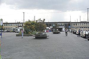 Hanau Hauptbahnhof - Station forecourt