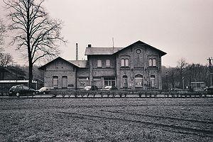 Cologne-Minden Railway Company - Appelhuelsen station on the Wanne-Eickel–Hamburg line